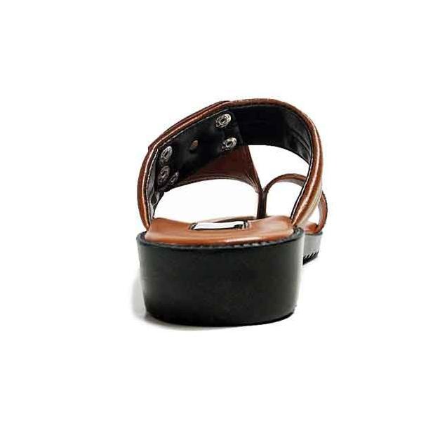 ヤマトサンダル デラックス 滑り止め中敷き ベンハーサンダル 金茶 メンズ 靴|nws|06