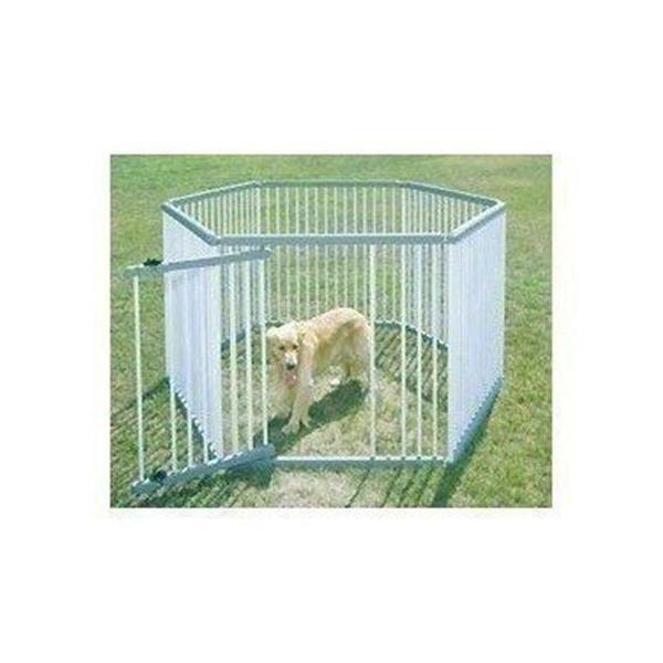 サークル 屋外 室外 ケージ 犬 ゲージ ペット スチール パイプ製 ペットサークル アイリスオーヤマ 高さ120cm 屋外用 犬舎 UC-126