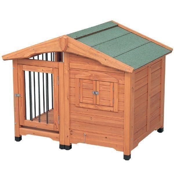 犬小屋 ドッグハウス 室外 屋外 中型犬 大型犬 犬 小屋 サークル犬舎CL-1100ブラウン 中型犬用・屋外用・ハウス・アイリスオーヤマ