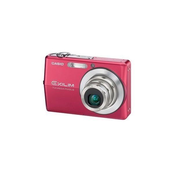 CASIO デジタルカメラ EXILIM ZOOM EX-Z700 レッド