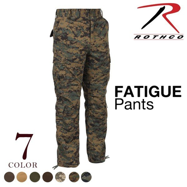 Rothco 2786 Olive Drab Vintage Paratrooper Fatigue Pants