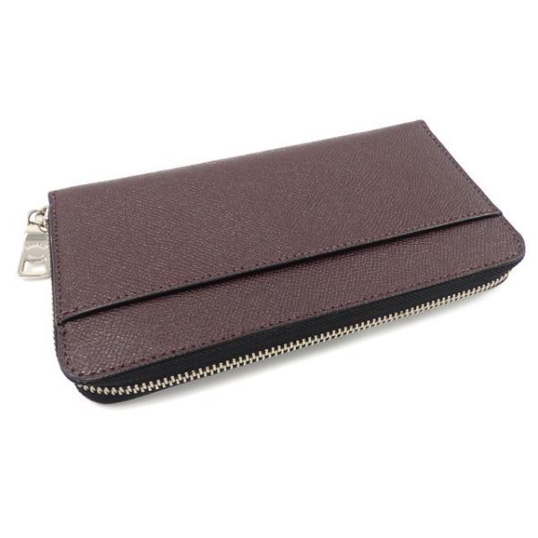 【値下げしました】 中古未使用品 コーチ ラウンドファスナー 長財布