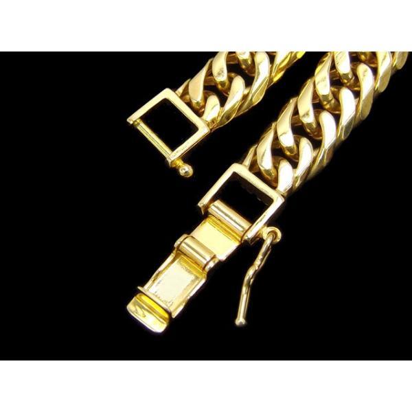 K18YG 喜平 6面 Wカット ブレスレット 50g 20cm 18金 イエローゴールド 750 キヘイ ダブルカット 六面 チェーン 受注販売 新品