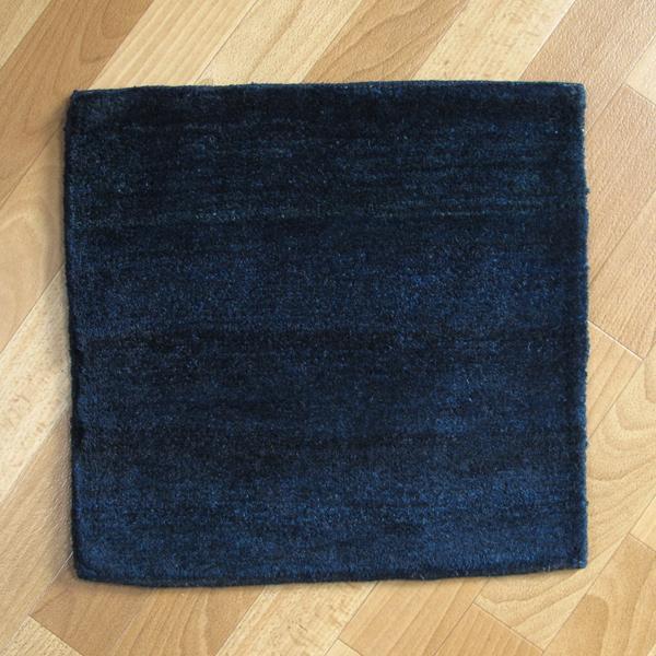 ギャッベ/シェカルー、細かめのしなやかな織り 40×41cm