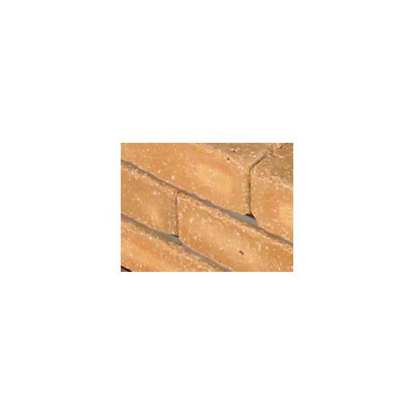 レンガ ガーデニング アンティーク調ベージュ らくらくれんが花壇セット100型 +穴あき半マス2個付き|o-tamatebako|03