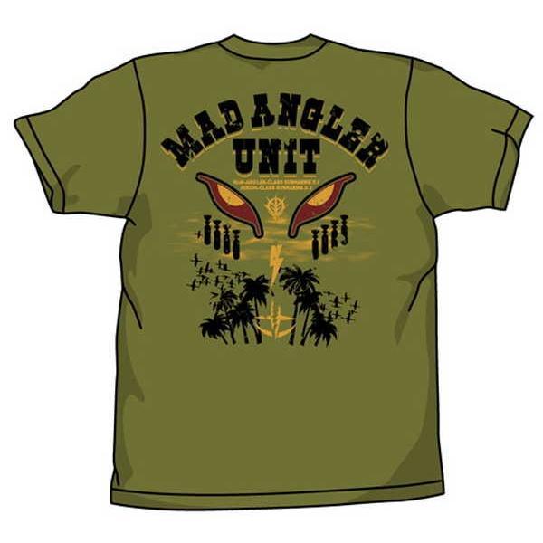 機動戦士ガンダム Tシャツ マッドアングラー隊 MOSS-S【予約 再販 11月上旬 発売予定】