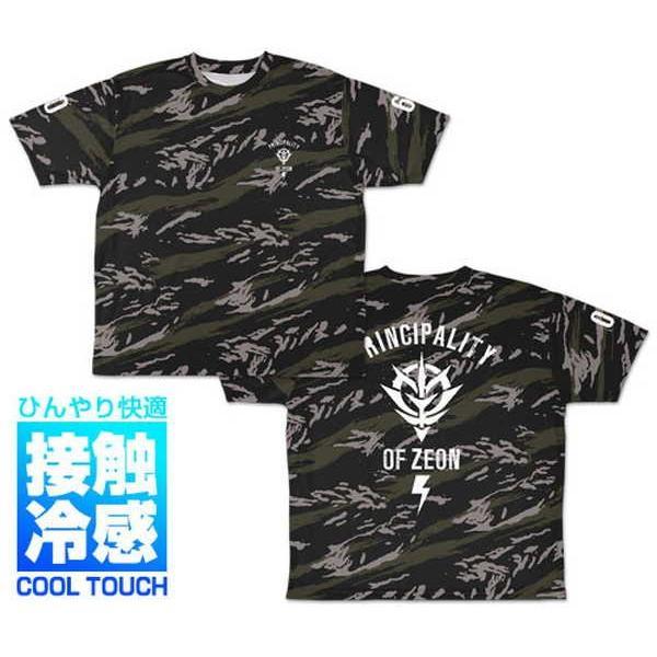 機動戦士ガンダム 冷感フルグラフィックTシャツ ジオン M【予約 再販 10月中旬 発売予定】