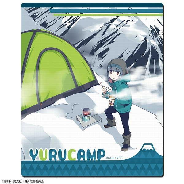 ゆるキャン△ ラバーマウスパッド Ver.2 デザイン02 志摩リン B