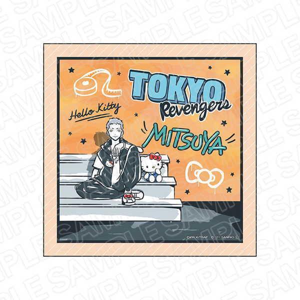 東京リベンジャーズ×サンリオキャラクターズ マイクロファイバー 三ツ谷隆×ハローキティ【予約 11/下 発売予定】