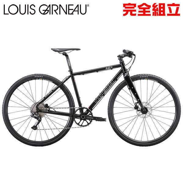 ルイガノ セッター アドバンス SUPER BLACK クロスバイク LOUIS GARNEAU SETTER ADVANCED