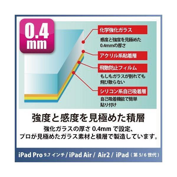 iPad Pro対応(9.7インチ)!保護ガラス Protect Glass for iPad Pro ・iPad Air/Air2 日本製画面保護ガラスフィルム オオアサ電子|oasaelec|05