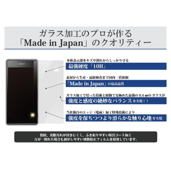 保護ガラス Protect Glass for Xperia Z4  日本製画面保護ガラスフィルム オオアサ電子|oasaelec|03