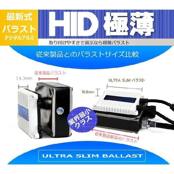 HIDキット 12V 35W (H1,H3,H7,H8,H11,HB3,HB4) 6000K 8000K 10000K アルミ極薄型バラスト|obara-jyusetu|04