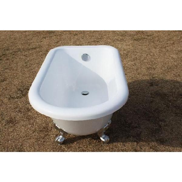 猫足バスタブ 浴槽 バスタブ 浴槽 置き型 幅1350 猫足バスタブ|obara-jyusetu|02