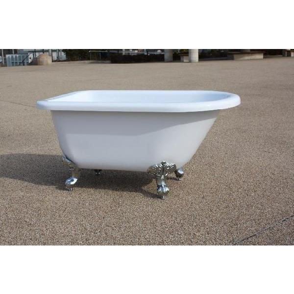 猫足バスタブ 浴槽 バスタブ 浴槽 置き型 幅1350 猫足バスタブ|obara-jyusetu|06