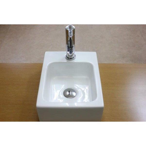 陶器洗面ボウル 洗面ボール 小さい 角型洗面器 手洗い鉢 手洗器 小さい 洗面器|obara-jyusetu