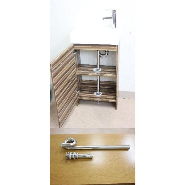 洗面台 洗面化粧台 幅445  洗面器 収納 1面鏡 洗面化粧台ミラーセット|obara-jyusetu|03