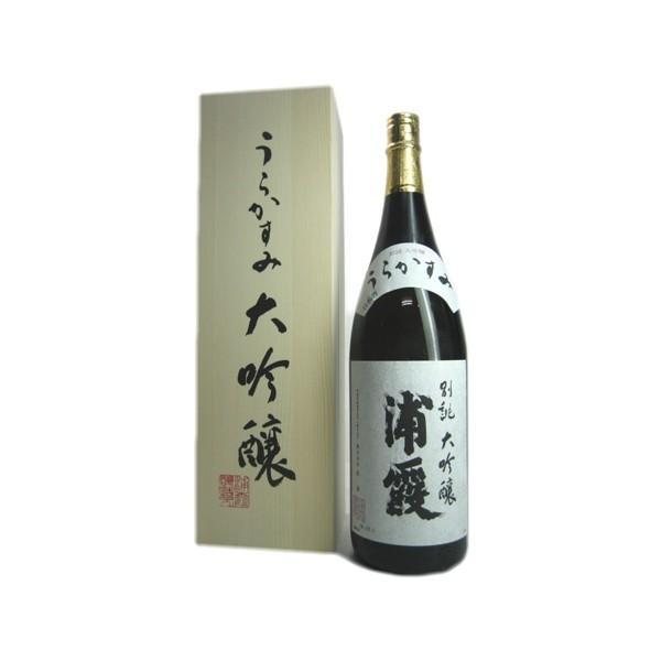 浦霞 別誂 大吟醸 木箱入り 1800ml|obasaketen