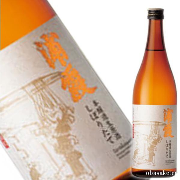 (平成28年11月製造) 浦霞 しぼりたて 本醸造 生酒 720ml |obasaketen