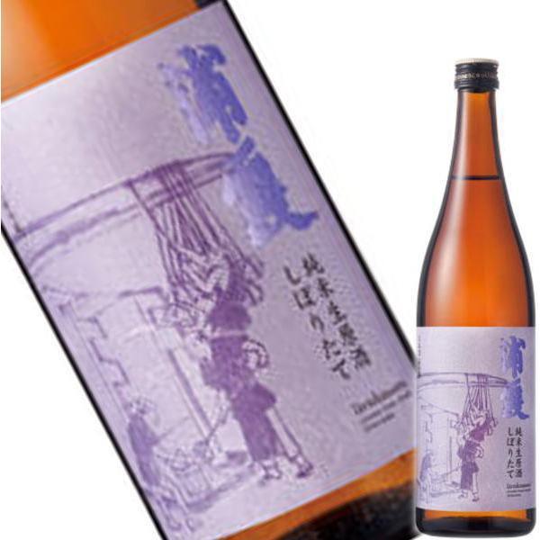 (1月26日より発送開始予定) 浦霞 しぼりたて 純米生酒 720ml|obasaketen