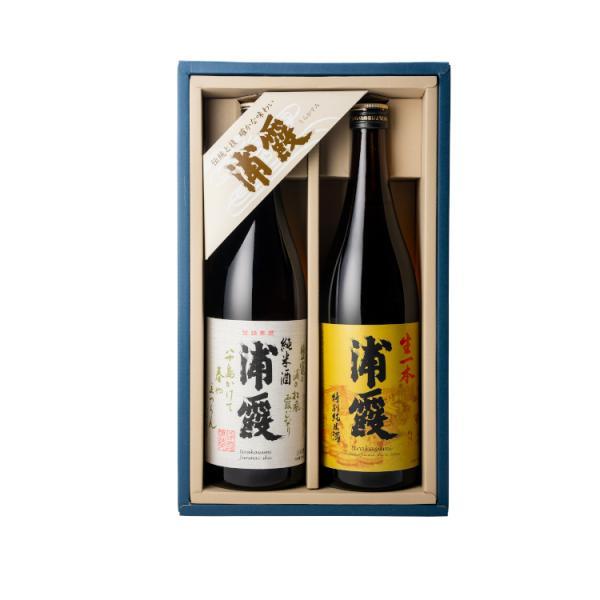 浦霞 純米酒飲み比べセット (720ml×2)|obasaketen