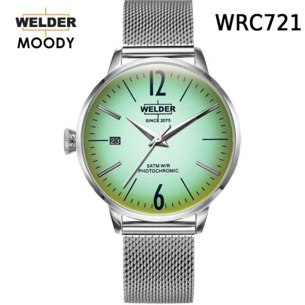 WELDER MOODY 3HANDS WRC721 ウェルダー ムーディー腕時計 36mmケース レディース 送料無料