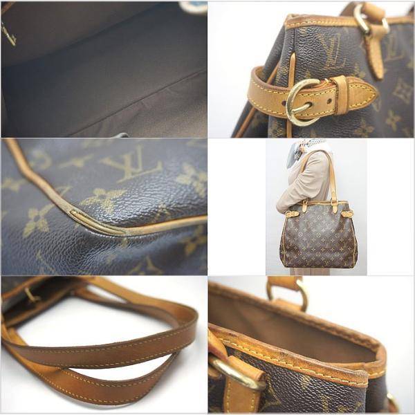 中古 安心価格 Louis Vuitton ルイヴィトン モノグラム トートバッグ バティニョール M51156 LV|obatays|03