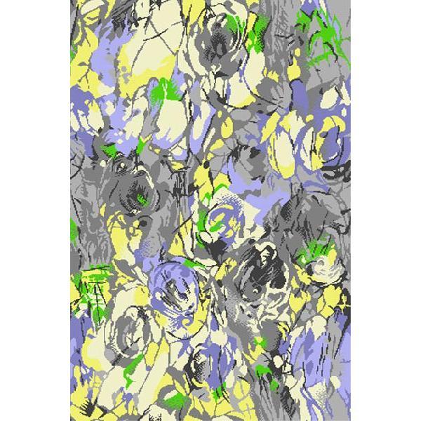 絵葉書 イラスト ポストカード イラスト画 西陣織和模様150円アート