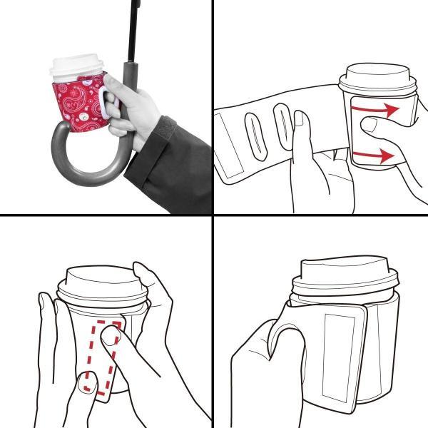 通せるカップスリーブ