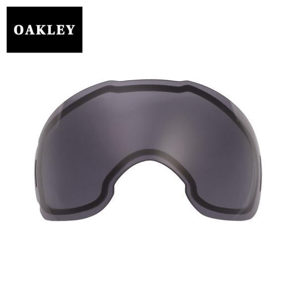【訳あり】 アウトレット オークリー エアブレイク ゴーグル 交換レンズ abrkxl-dkgry OAKLEY AIRBRAKE XL スノーゴーグル DARK GREY