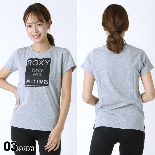 ROXY/ロキシー レディース 半袖 Tシャツ ティーシャツ フィットネスウェア スポーツウェア 吸汗速乾 ジム ヨガ RST174108|oc-sports|04