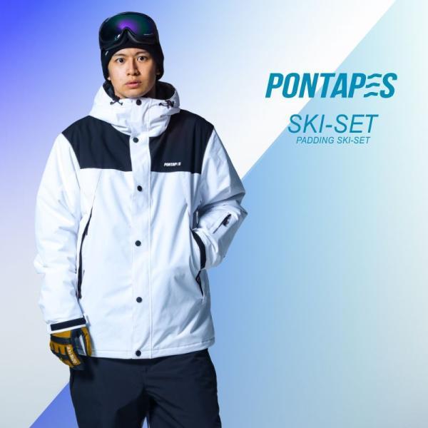 スキーウェア メンズ レディース スノーボードウェア スキーウェア スノボ 上下セット ジャケット パンツ POSKI-128|oc-sports|04