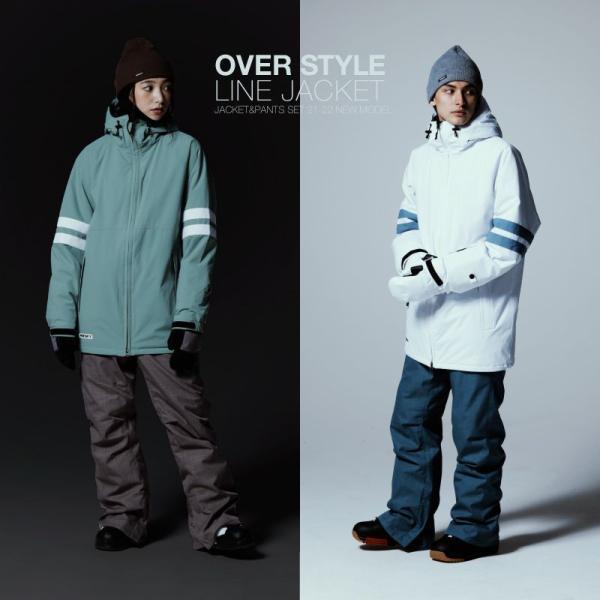 スノーボード ウェア メンズ レディース スノーウェア スキーウェア スノボ 上下セット ジャケット パンツ PS1-SET|oc-sports|06