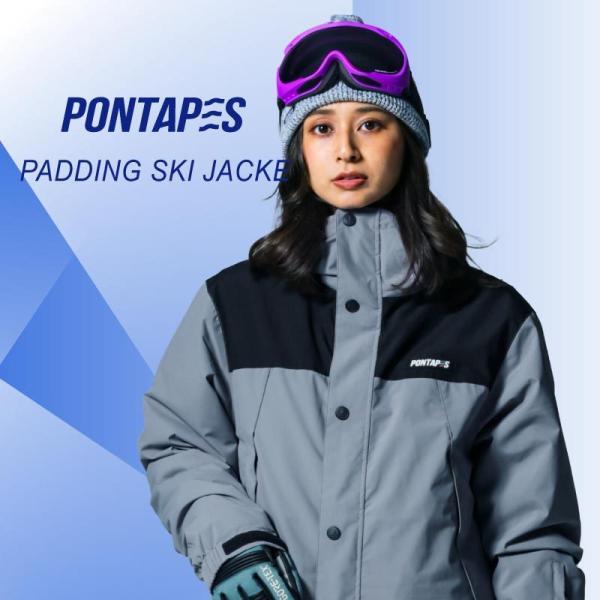 スノーボード ウェア ジャケット 単品 メンズ レディース スノーウェア スキーウェア スノボ 大きいサイズ 軽量 保温性 POJ-379|oc-sports|05