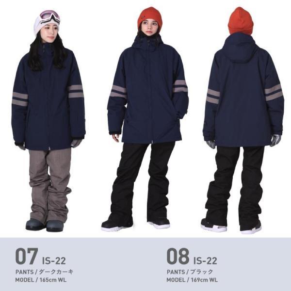 スノーボードウェア レディース スノーウェア スキーウェア スノボ 上下セット ジャケット パンツ プルオーバー アノラック IS6-SET|oc-sports|10