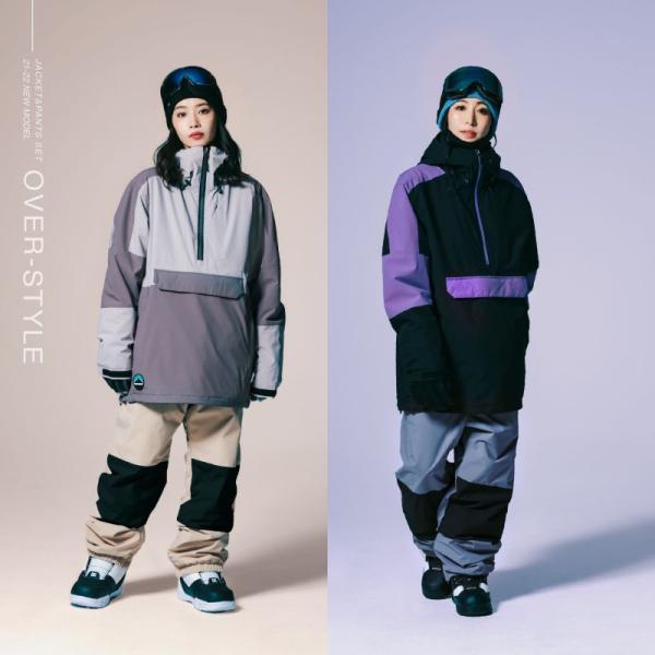 スノーボード ウェア レディース スノーウェア スキーウェア スノボ 上下セット ジャケット パンツ IS2-SET oc-sports 06