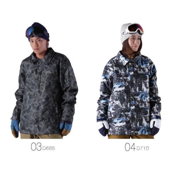 限定価格 スノーボードウェア メンズ レディース スノーボードウェア スキーウェア スノボ ジャケット 単品 コーチジャケット age-760|oc-sports|03