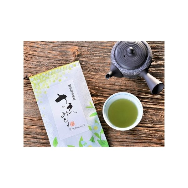さえみどり 90g/極上煎茶/新茶/煎茶/茶葉/緑茶/日本茶/お茶|ocha-sonobe