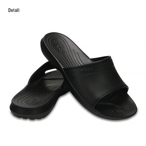 クロックス クラシック スライド シャワーサンダル メンズ レディース サンダル クロック 黒 ユニセックス crocs classic slides black|ocs|02