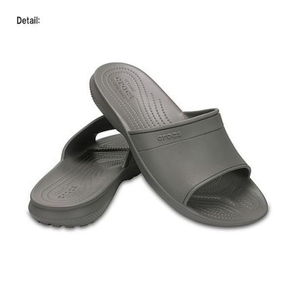 SALE クロックス クラシック スライド シャワーサンダル メンズ レディース サンダル クロック スモーク ユニセックス crocs classic slides smoke|ocs|03