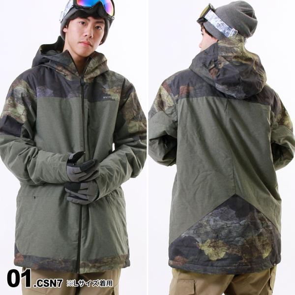 QUIKSILVER/クイックシルバー メンズ スノーボードウェア ジャケット スノージャケット スノーウェア スノボウェア 上 EQYTJ03057|ocstyle|02