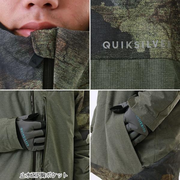 QUIKSILVER/クイックシルバー メンズ スノーボードウェア ジャケット スノージャケット スノーウェア スノボウェア 上 EQYTJ03057|ocstyle|04