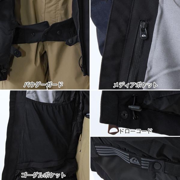 QUIKSILVER/クイックシルバー メンズ スノーボードウェア ジャケット スノージャケット スノーウェア スノボウェア 上 EQYTJ03061|ocstyle|09