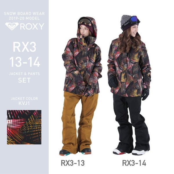 ROXY&ScoLar/ロキシー&スカラー レディース スノーボードウェア ジャケット&パンツ スノーウェア スノボウェア スノボウェア RXA-SET ocstyle 15