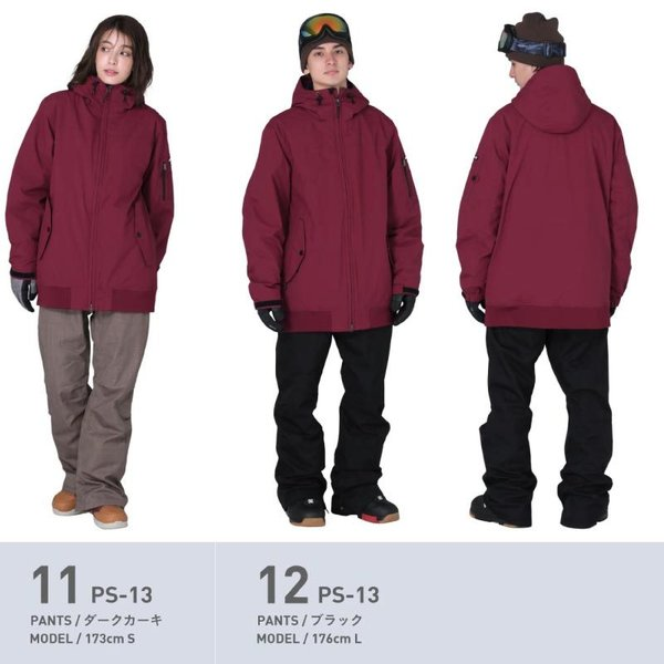 新作即納 スノーボードウェア スキーウェア メンズ レディース スノボウェア ボードウェア 上下セット ジャケット パンツ PSD PONTAPES/ポンタペス|ocstyle|12