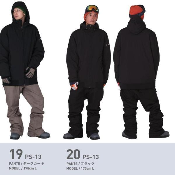 新作即納 スノーボードウェア スキーウェア メンズ レディース スノボウェア ボードウェア 上下セット ジャケット パンツ PSD PONTAPES/ポンタペス|ocstyle|16