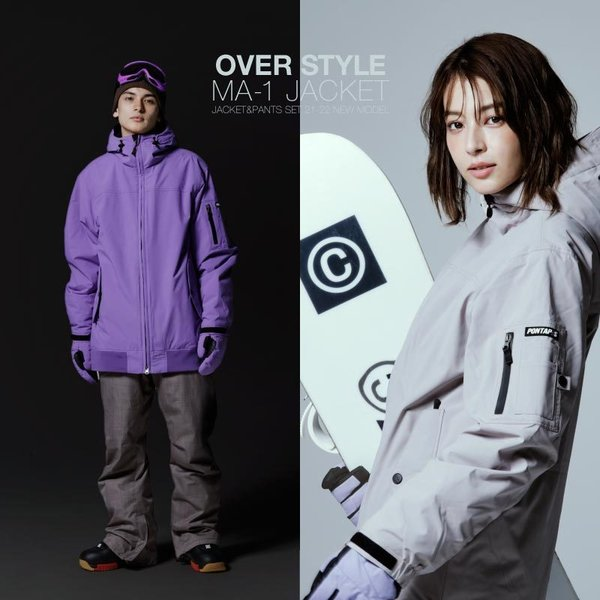 新作即納 スノーボードウェア スキーウェア メンズ レディース スノボウェア ボードウェア 上下セット ジャケット パンツ PSD PONTAPES/ポンタペス|ocstyle|06
