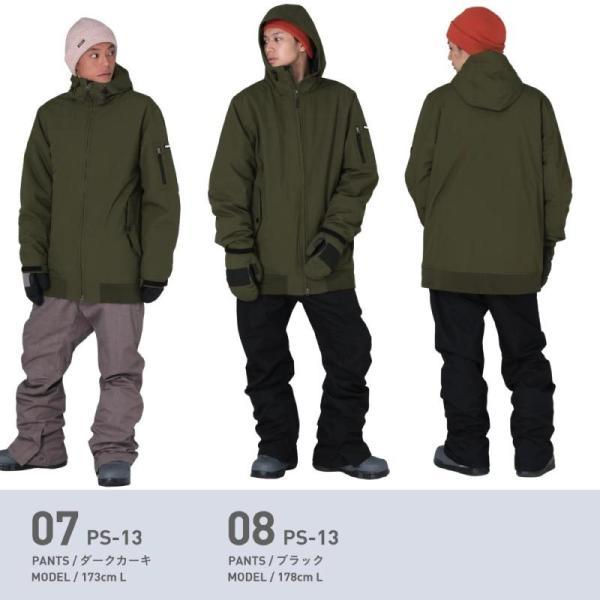 新作即納 スノーボードウェア スキーウェア メンズ レディース スノボウェア ボードウェア 上下セット ジャケット パンツ PSD PONTAPES/ポンタペス|ocstyle|10