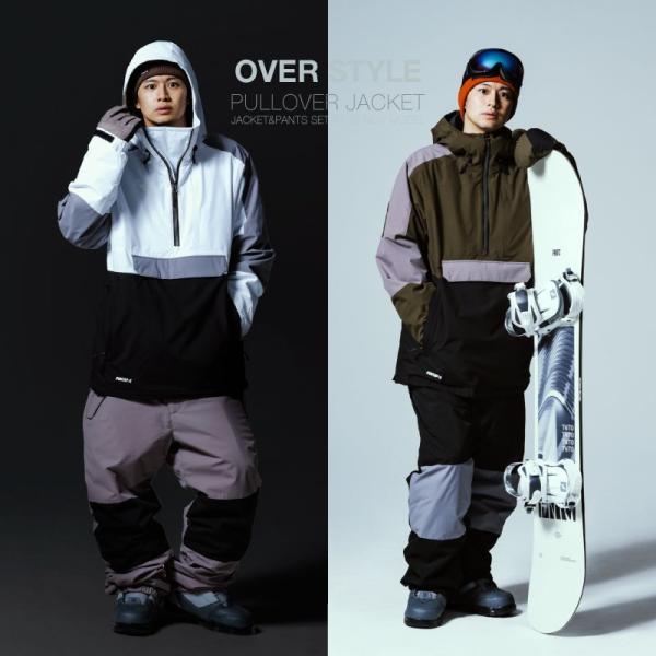 新作即納 スノーボードウェア スキーウェア メンズ レディース スノボウェア ボードウェア 上下セット ジャケット パンツ PSC PONTAPES/ポンタペス|ocstyle|06