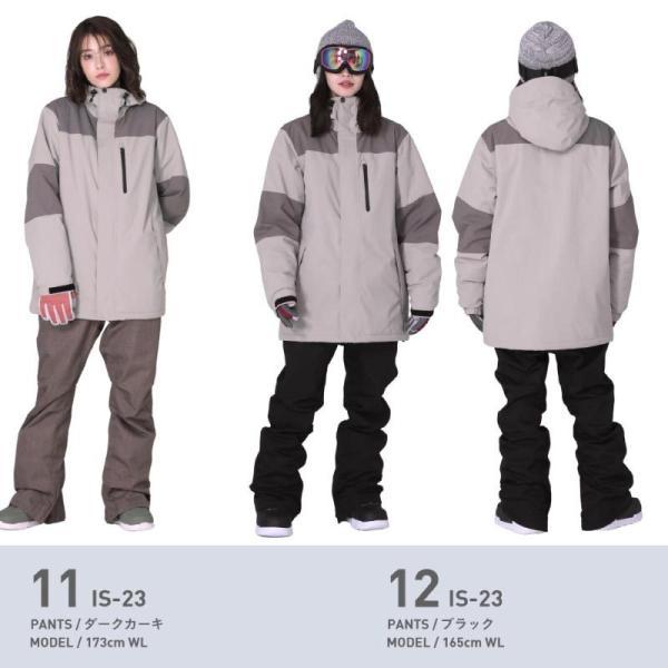 スノーボードウェア スキーウェア レディース スノボウェア ボードウェア 上下セット ジャケット パンツ IDD icepardal/アイスパーダル|ocstyle|12